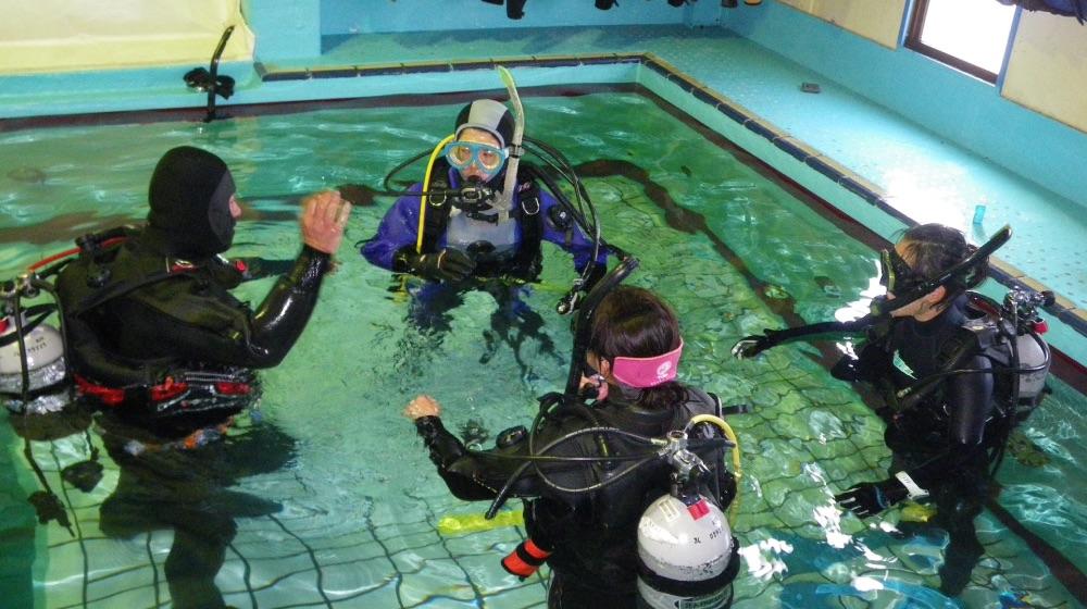 spc005 - ダイビング講習