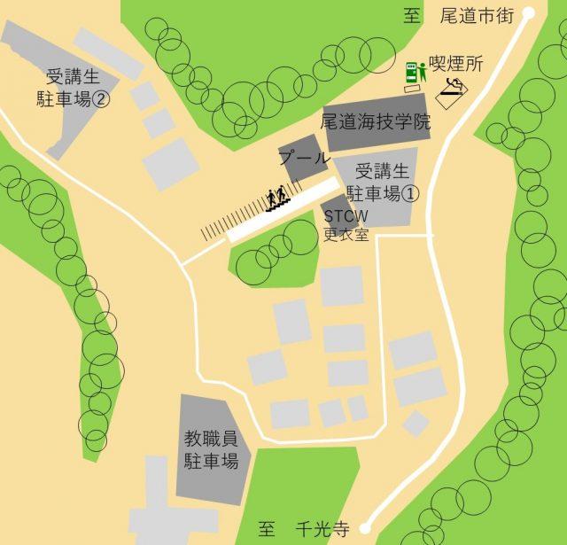 parking 640x615 - 学校・各コース説明